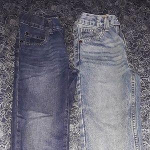 2 boys jeans size 7